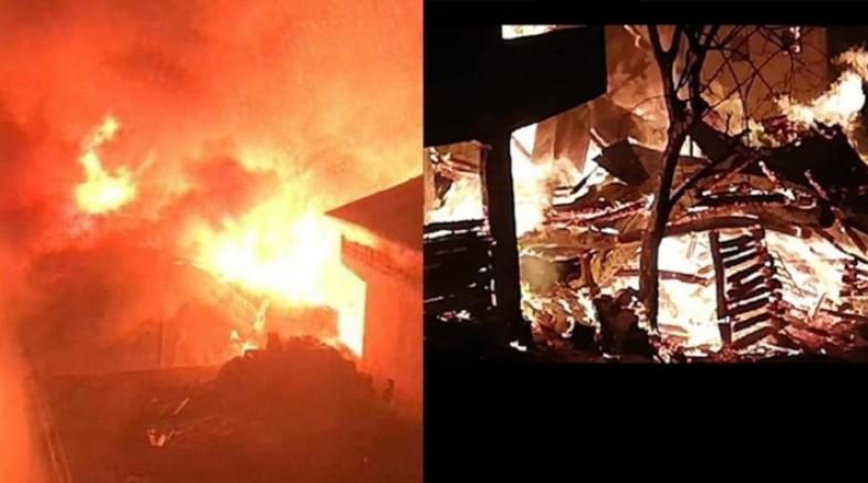 Artvin'de yangın: 7 ev, 3 samanlık ve 8 ahır kullanılamaz hale geldi