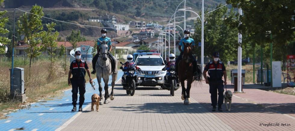 Bursa'nın sahil ve piknik alanlarına atlı jandarma timi