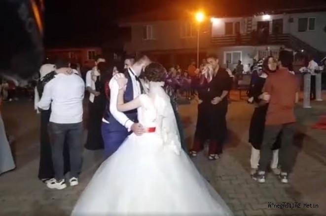 Düğün sonrası eğlencede kurallara uymayan şahıslara ceza kesildi