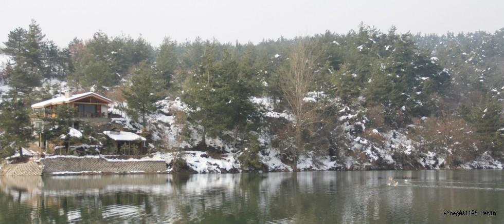 Eymir Göleti büyülüyor