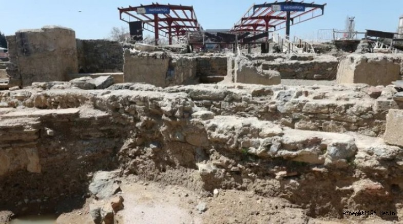 Haydarpaşa Garı'ndaki arkeolojik kazılarda 2 bin 400 yıllık anıt bulundu
