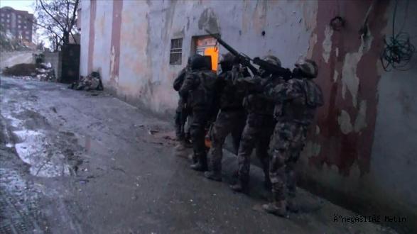 İNEGÖL'DE PKK OPERASYONU
