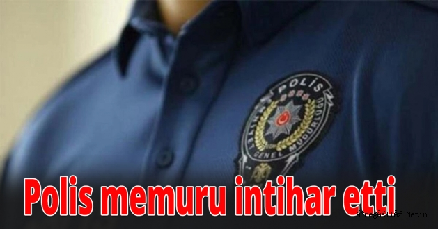 İnegöl'de polis memuru canına kıydı