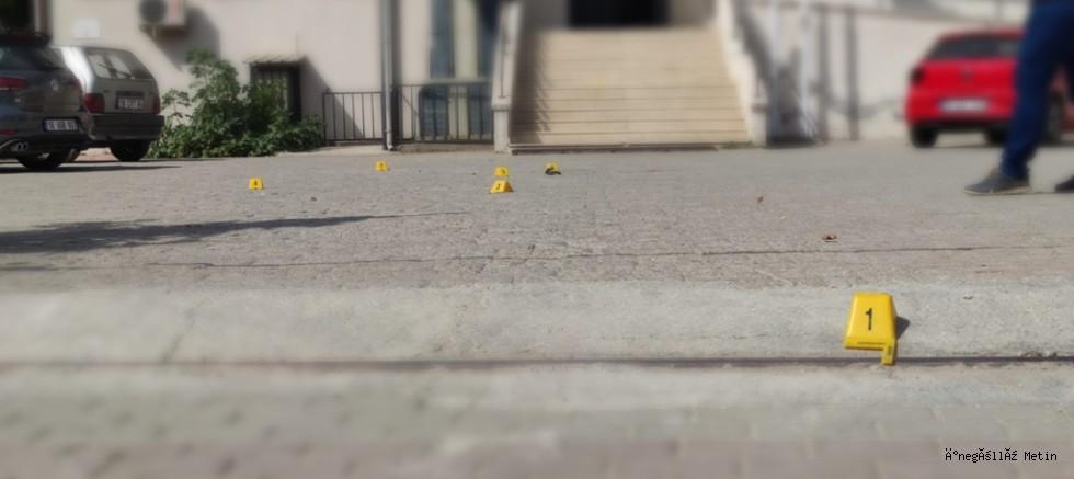 İnegöl'de silahlı çatışma 2 kişi yaralandı