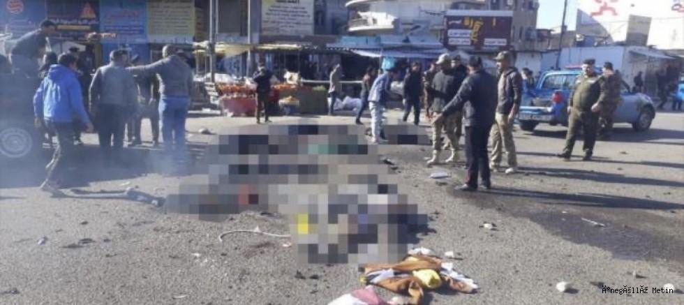 Irak'ın başkentinde intihar saldırısı: Ölü ve yaralılar var