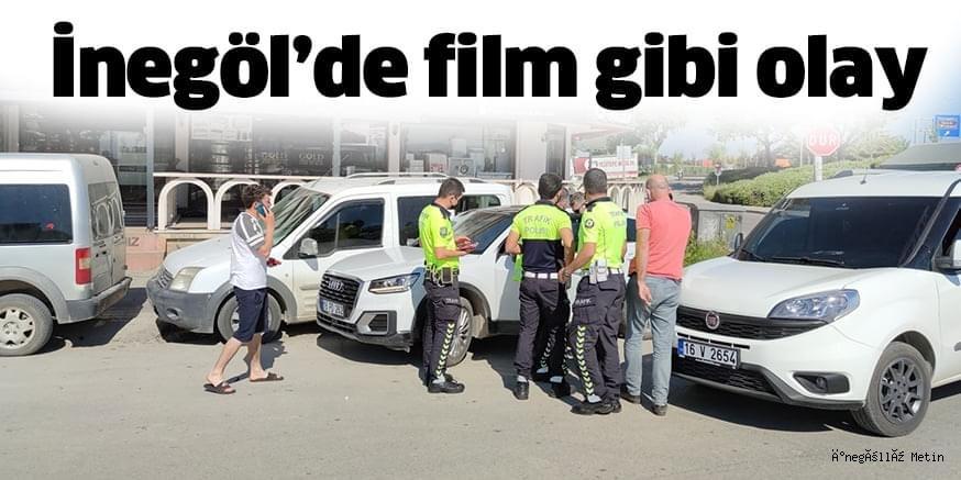 Kaza yapınca sürücüsü kaçan araçta bulunan silahın sahibi gözaltına alındı